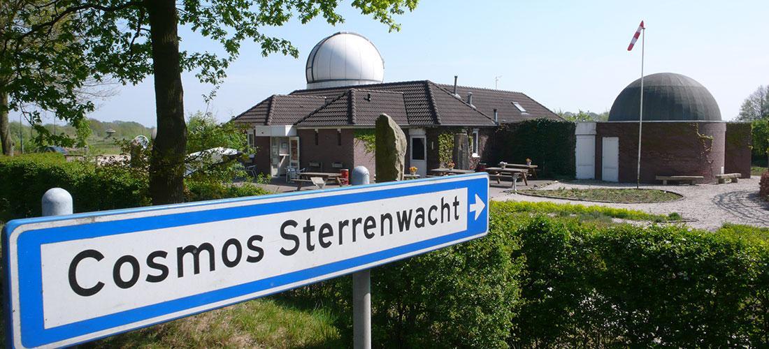 Cosmos Sterrenwacht Aanzicht