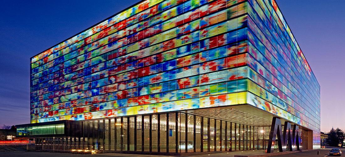 Mediapark Hilversum Aanzicht