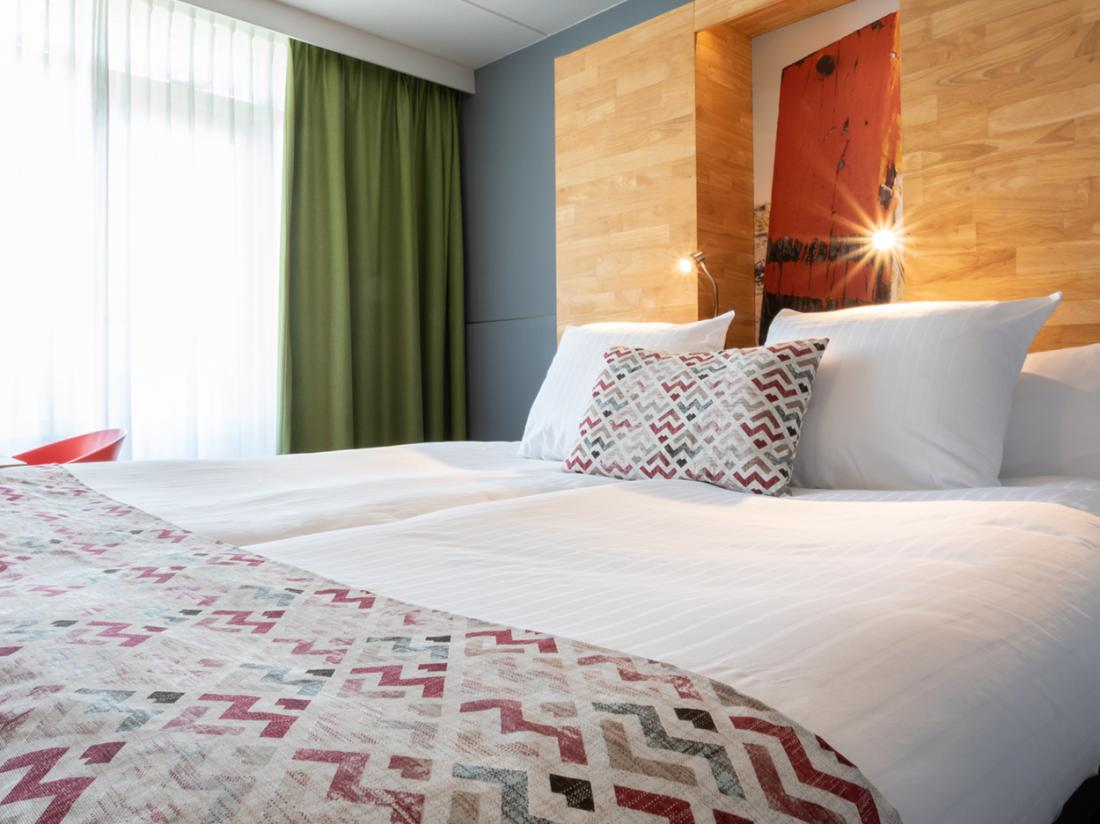 Strandhotel Westduin Hotelovernachting Zeeland Hotelkamer Details