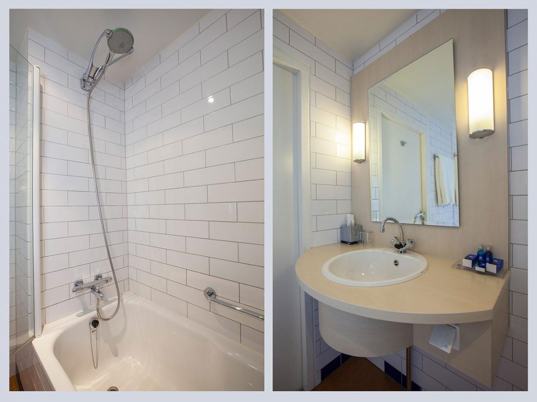 Hotelaanbieding Vlaardingen Badkamer Landzijde Waterzijde