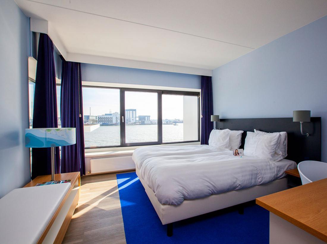 Hotelarrangement Vlaardingen Hotelkamer Matroos Waterzijde