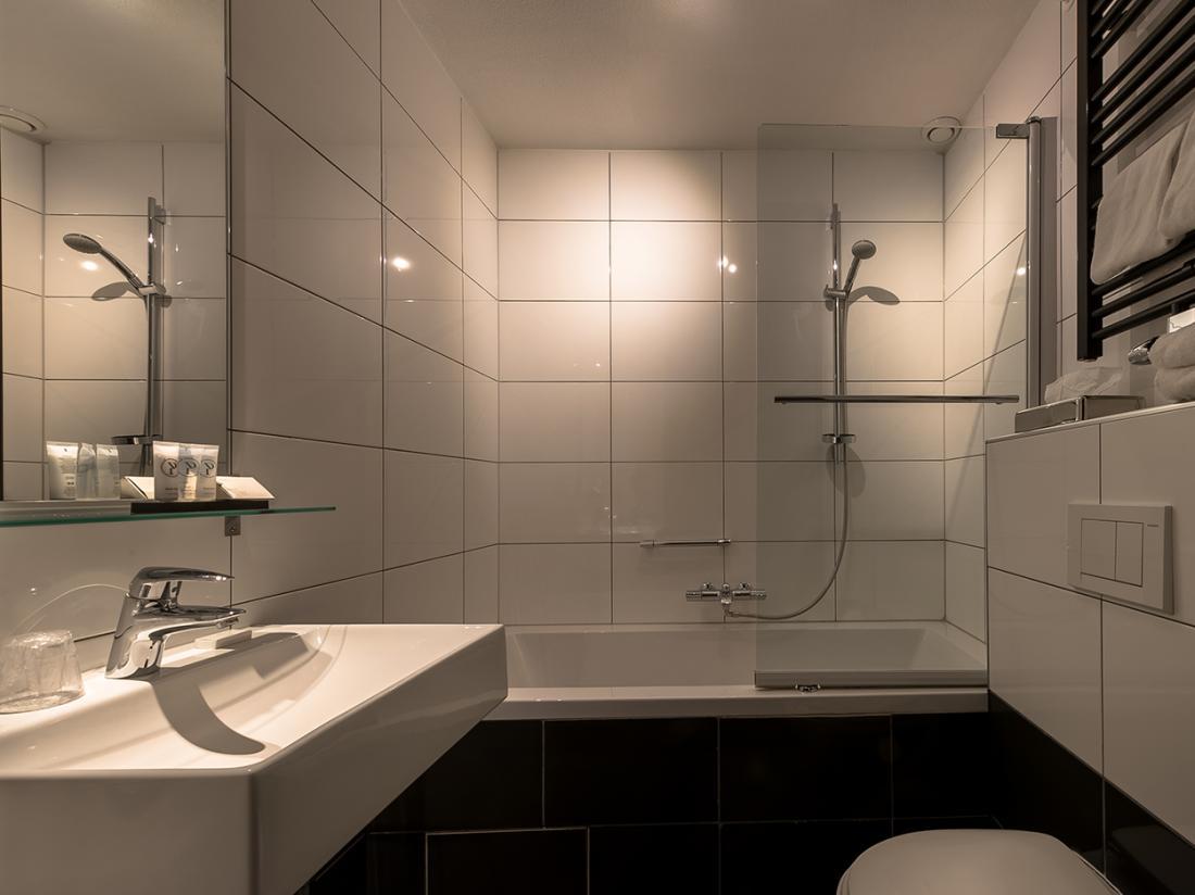Badkamer Wapen van Delden hotelovernachting