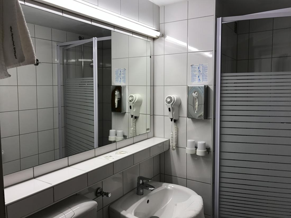Hotel Rheinlust duitsland badkamer