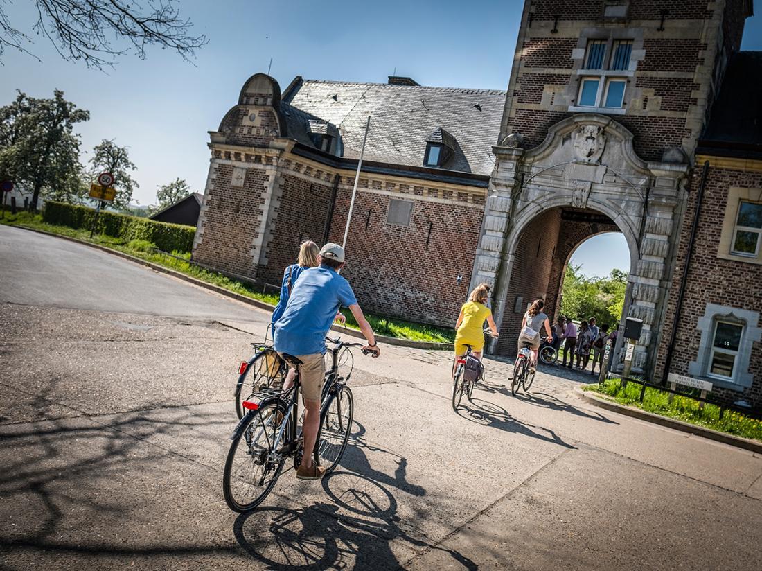 Martins Rentmeesterij Limburg Bilzen Fietsroute
