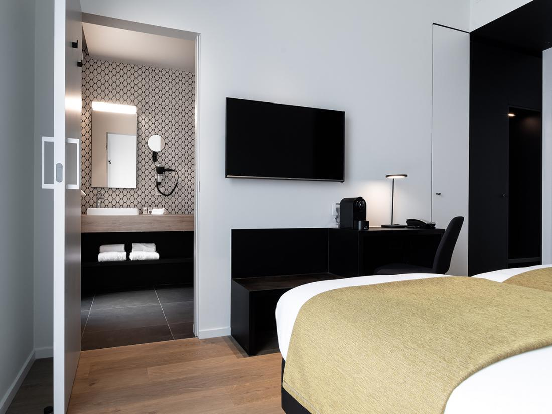Martins Rentmeesterij Limburg Bilzen Hotel Badkamer