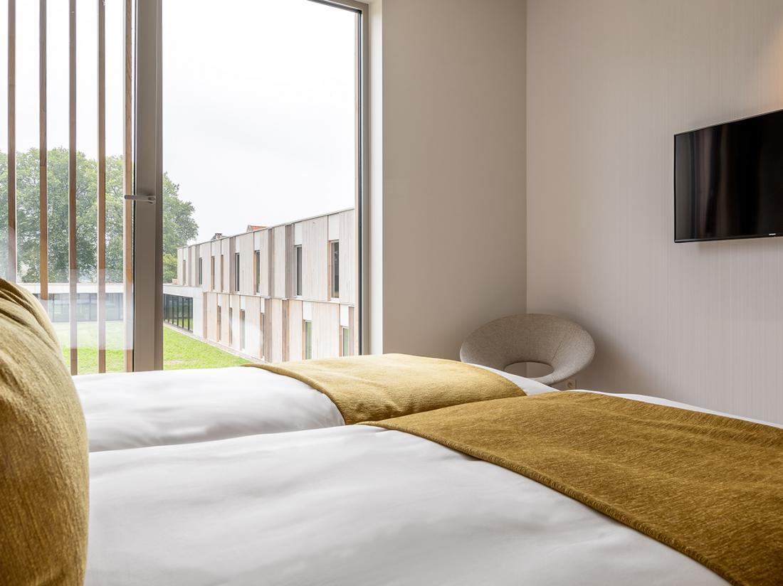 Martins Rentmeesterij Limburg Bilzen Hotel Cosy Room TV