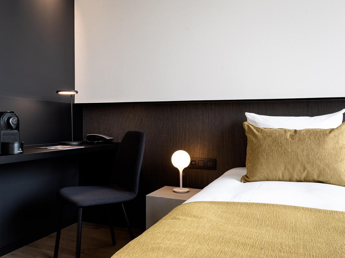 Martins Rentmeesterij Limburg Bilzen Hotel Cosy Room Zitje