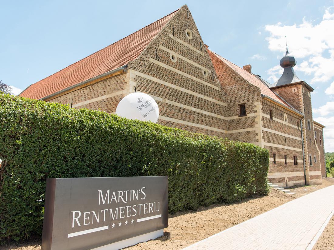 Martins Rentmeesterij Limburg Bilzen Hotel Entree