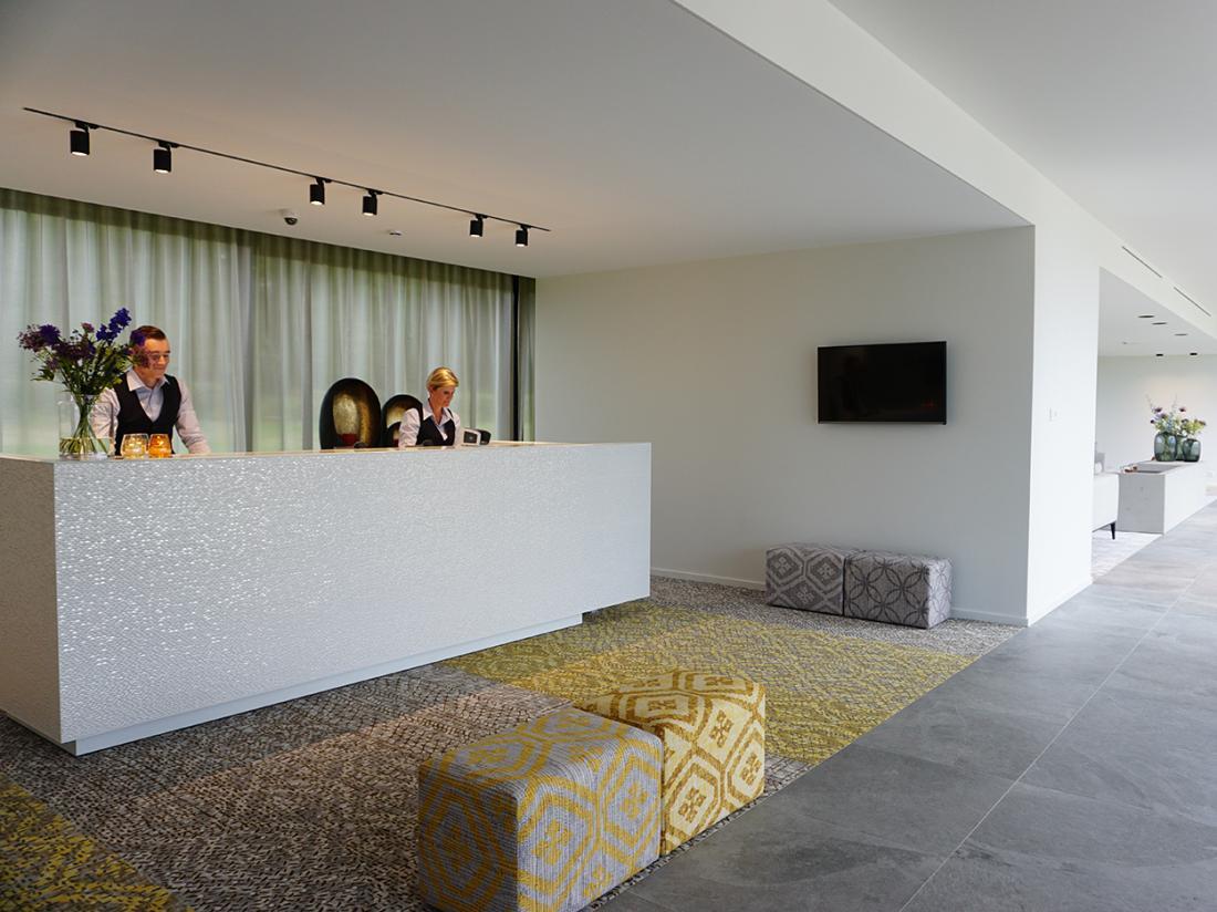 Martins Rentmeesterij Limburg Bilzen Hotel Receptie