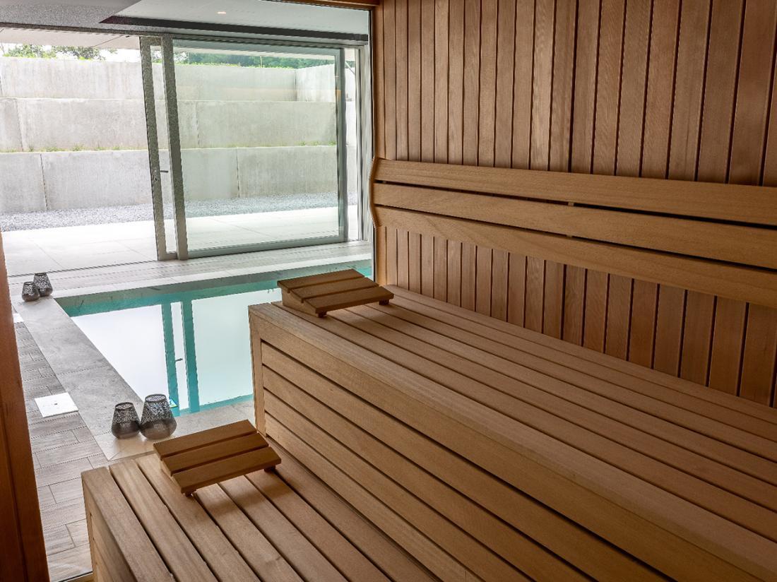 Martins Rentmeesterij Limburg Bilzen Hotel Sauna