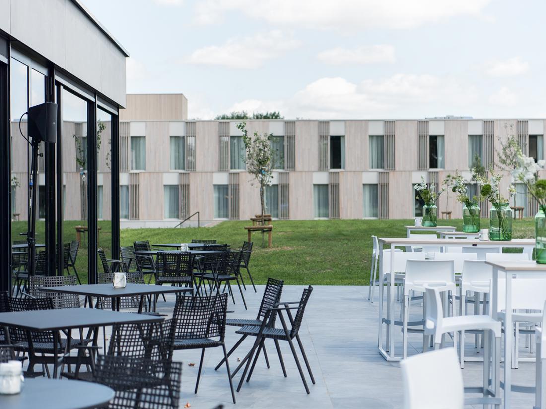 Martins Rentmeesterij Limburg Bilzen Hotel Terras
