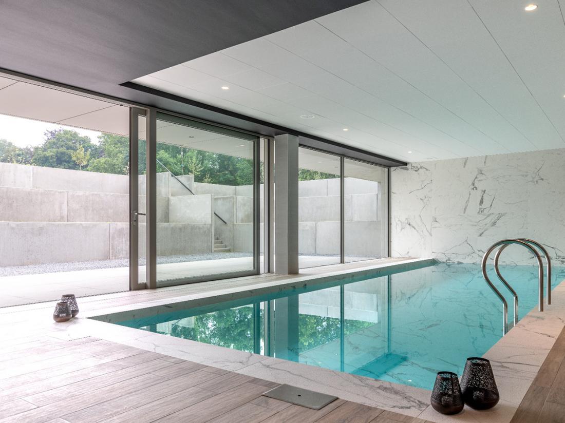 Martins Rentmeesterij Limburg Bilzen Hotel Zwembad