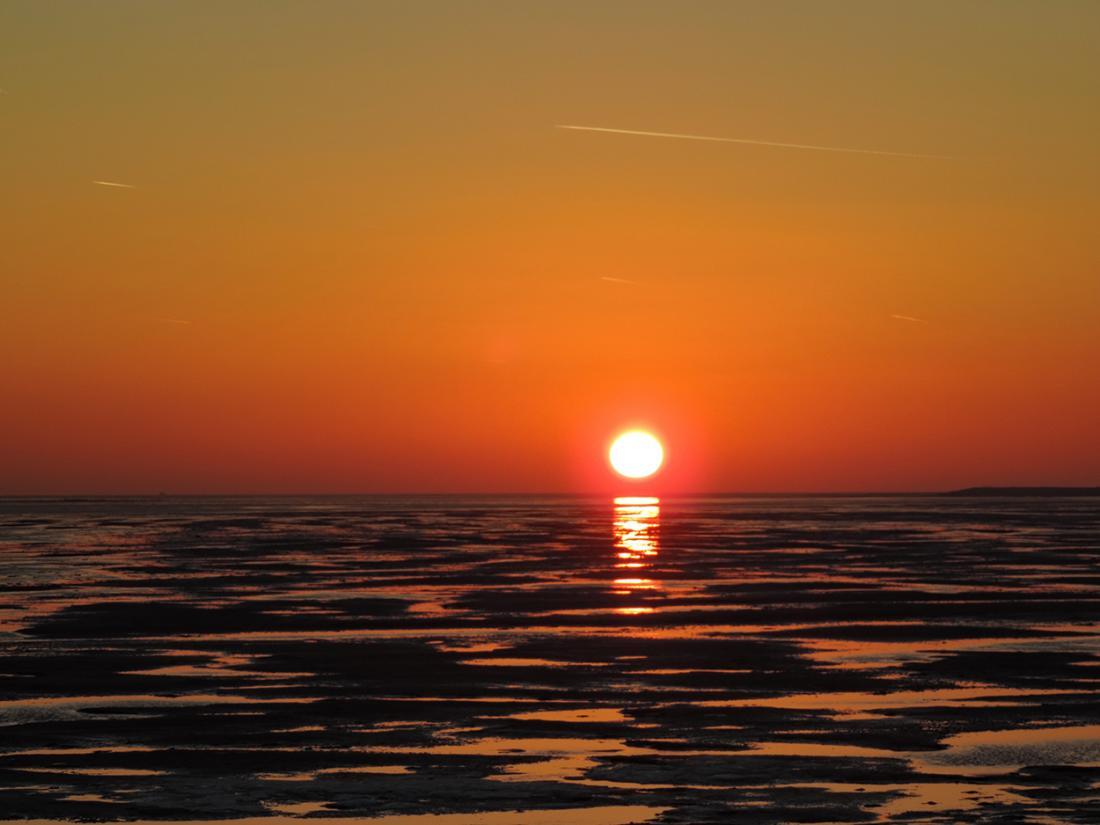 zonsondergang omgeving terschelling overnachting
