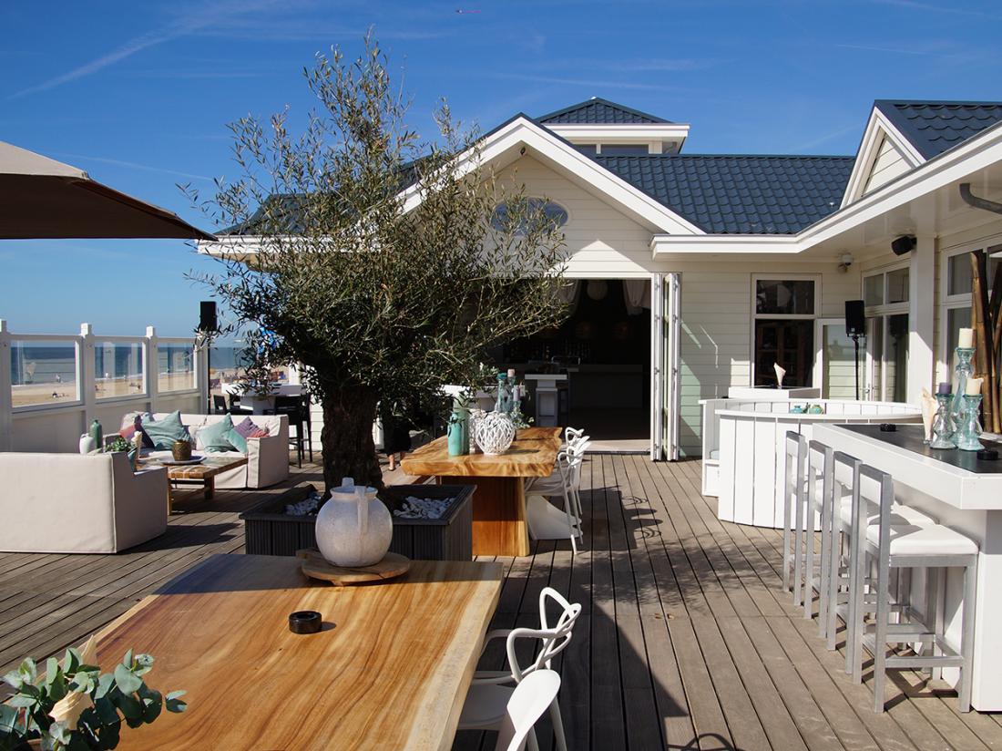 Weekendje weg Noordwijk Alexander hotel beachbar