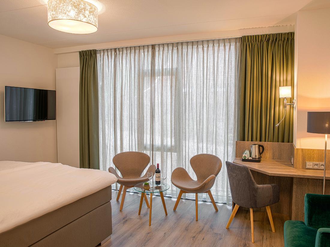 Erve Hulsbeek Twente Hotelovernachting kamer