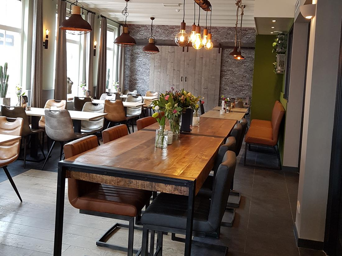 Hotel Trefpunt Restaurant Dineren interieur