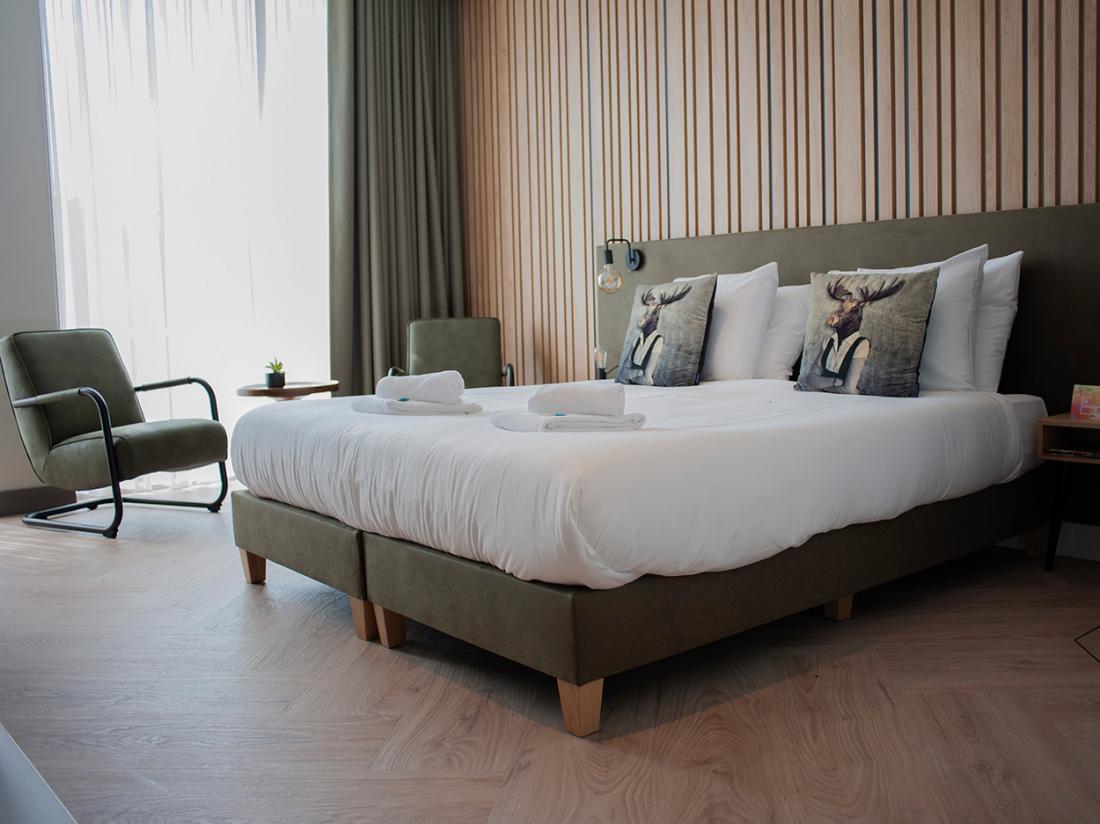 OvernachtingVoorthuizen Twee en Vierpersoons Luxe Hotel Kamer