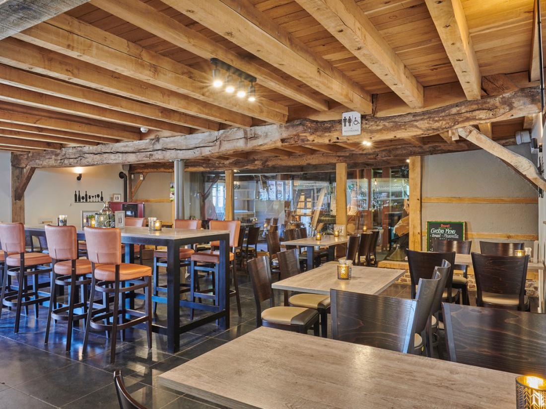 Hotel Brasserie de Hoogmolen Belgie weekendjeweg Restaurant