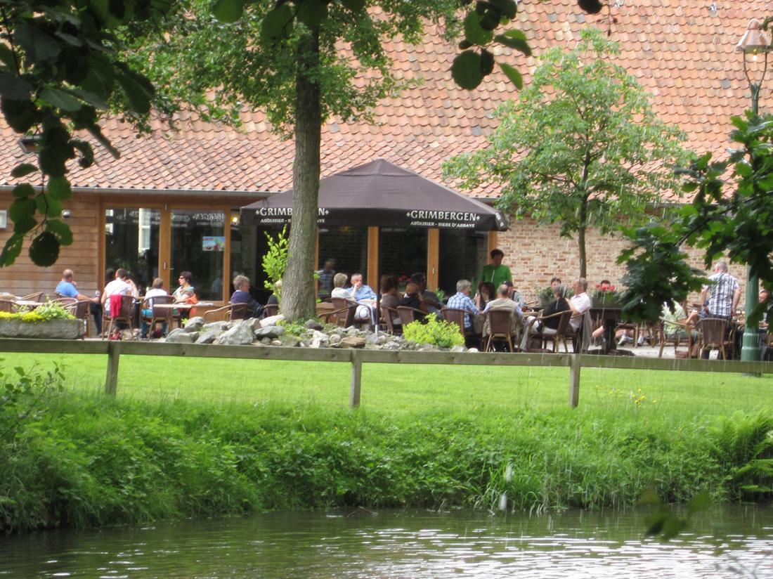 Hotel Brasserie de Hoogmolen Hotelovernachting Terras