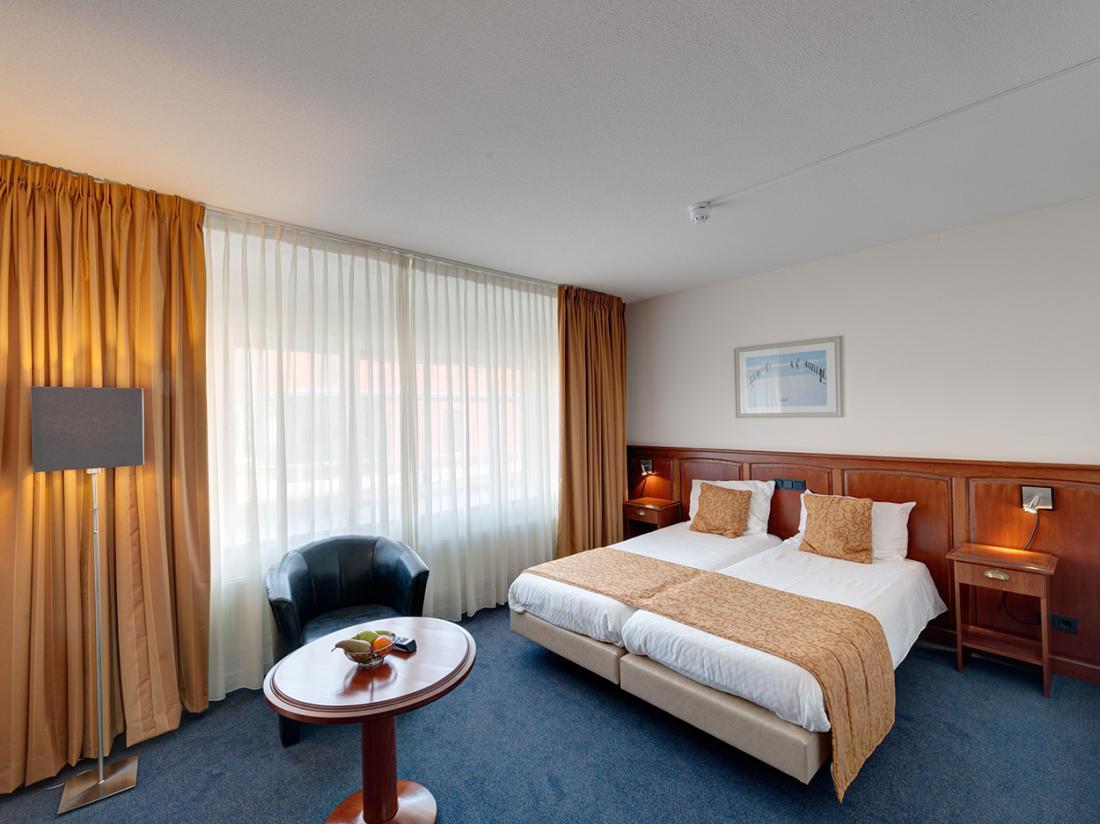 Hotel De Boegschroef Delfzijl Weekendjeweg Hotelkamer Tweepersoonskamer