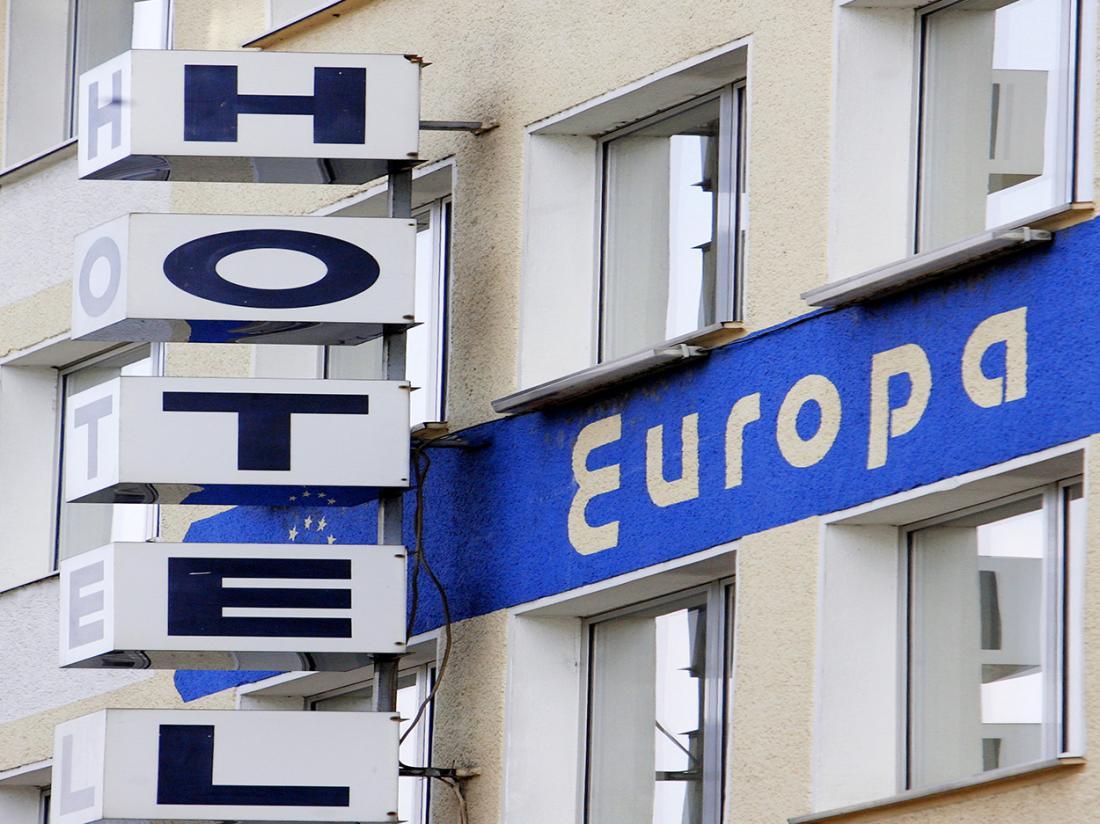 Hotel Europa Aachen Buitenaanzicht
