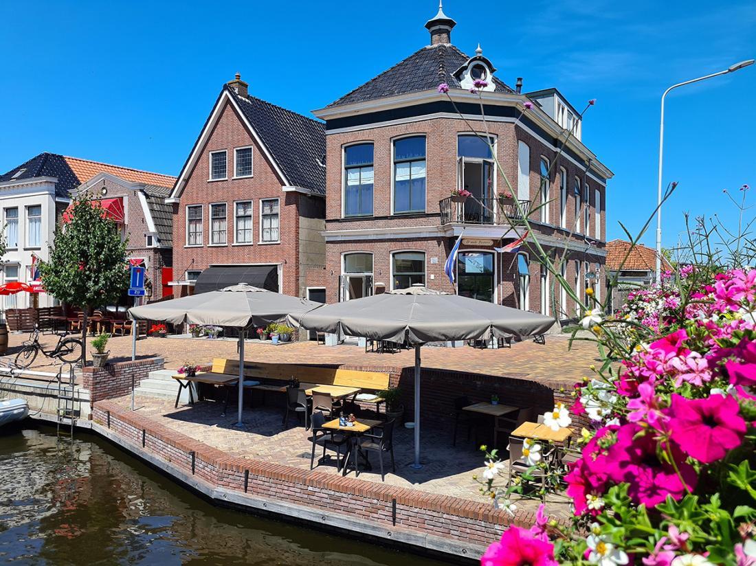 Hotel Herberg Joure Friesland Weekendjeweg Buitenaanzicht