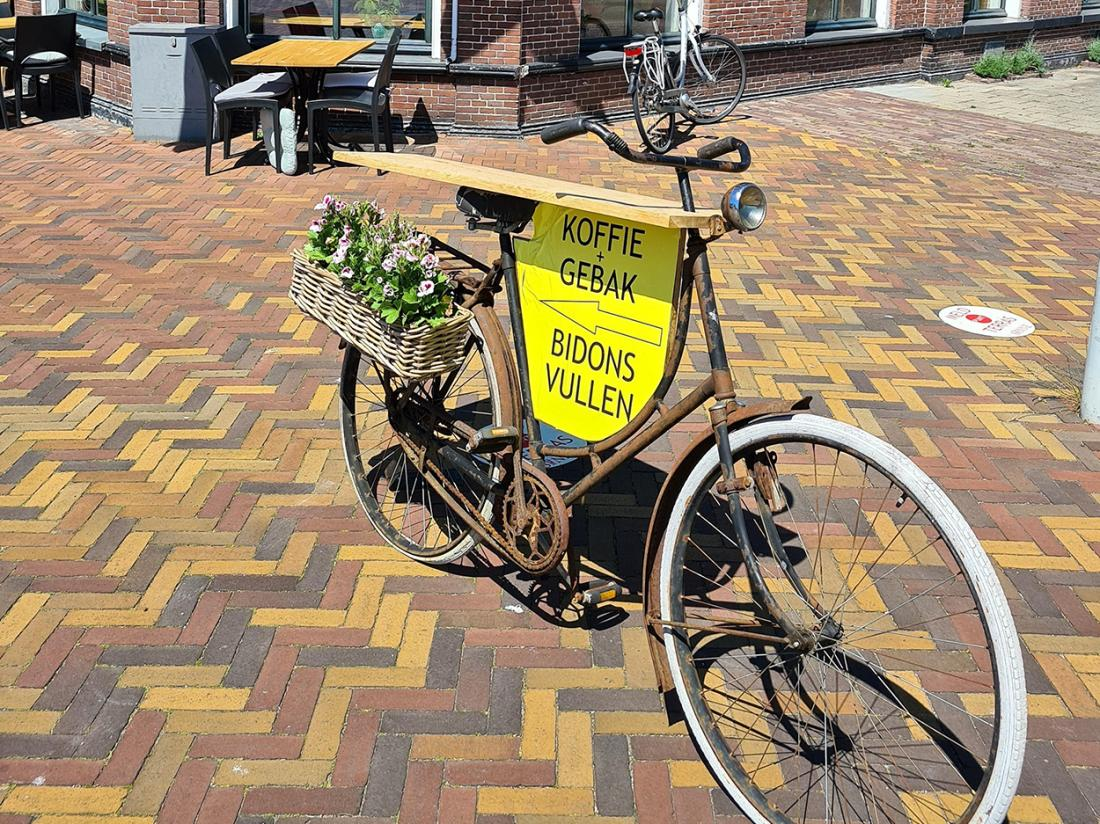 Hotel Herberg Joure Friesland Weekendjeweg Fiets