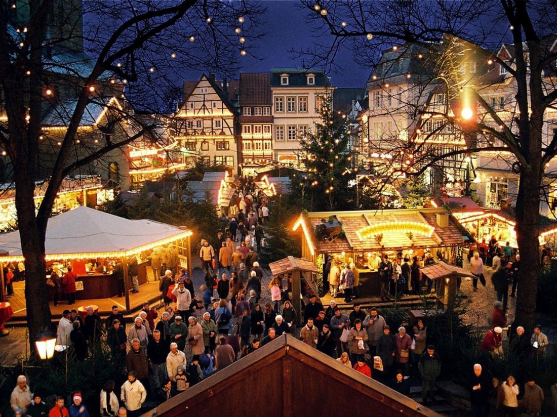 Hotel Duitsland Weihnachtsmarkt