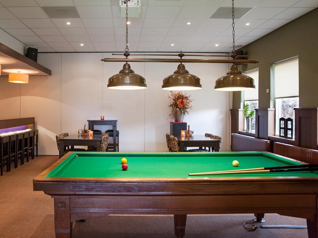 Hotel De Koekoekshof Elp Drenthe Restaurant Pooltafel
