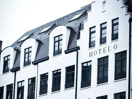 hotel o kathedral antwerpen aanzicht