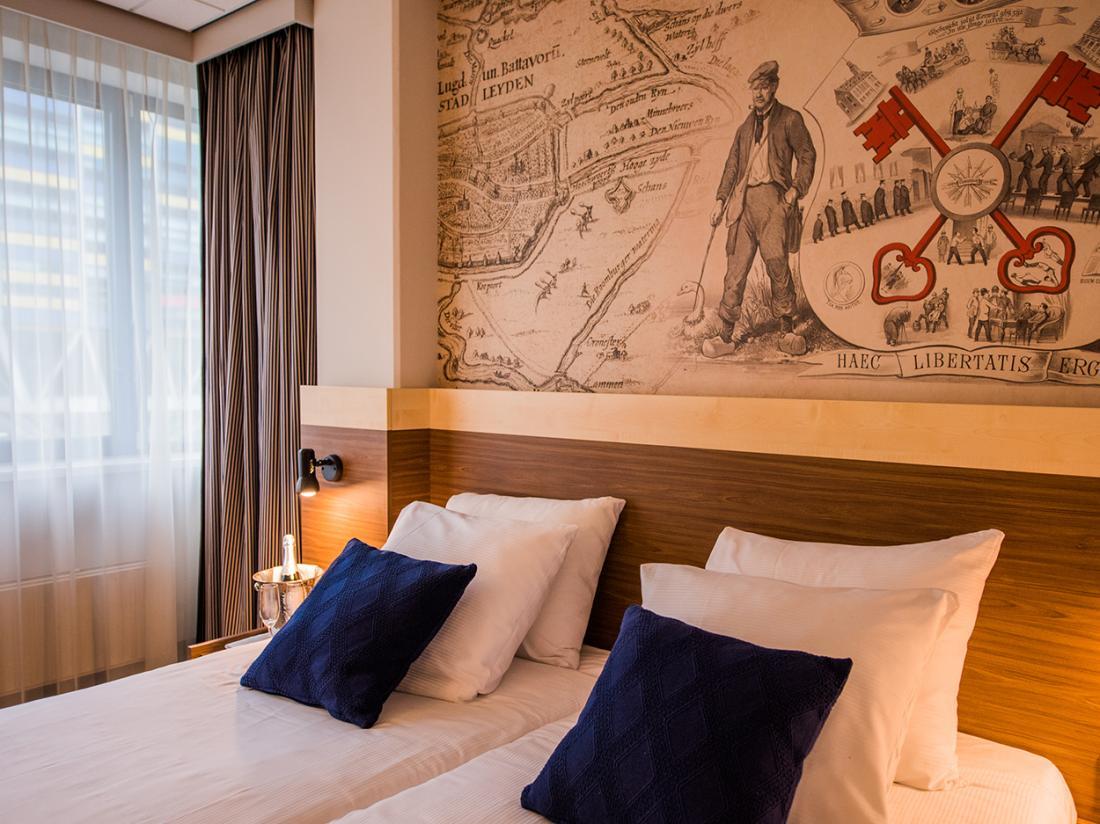 Tulip Inn Centre Leiden Hotelkamer