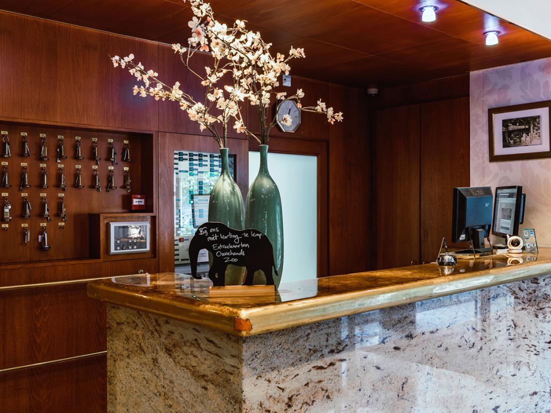 Paviljoen Hotel Rhenen Receptie