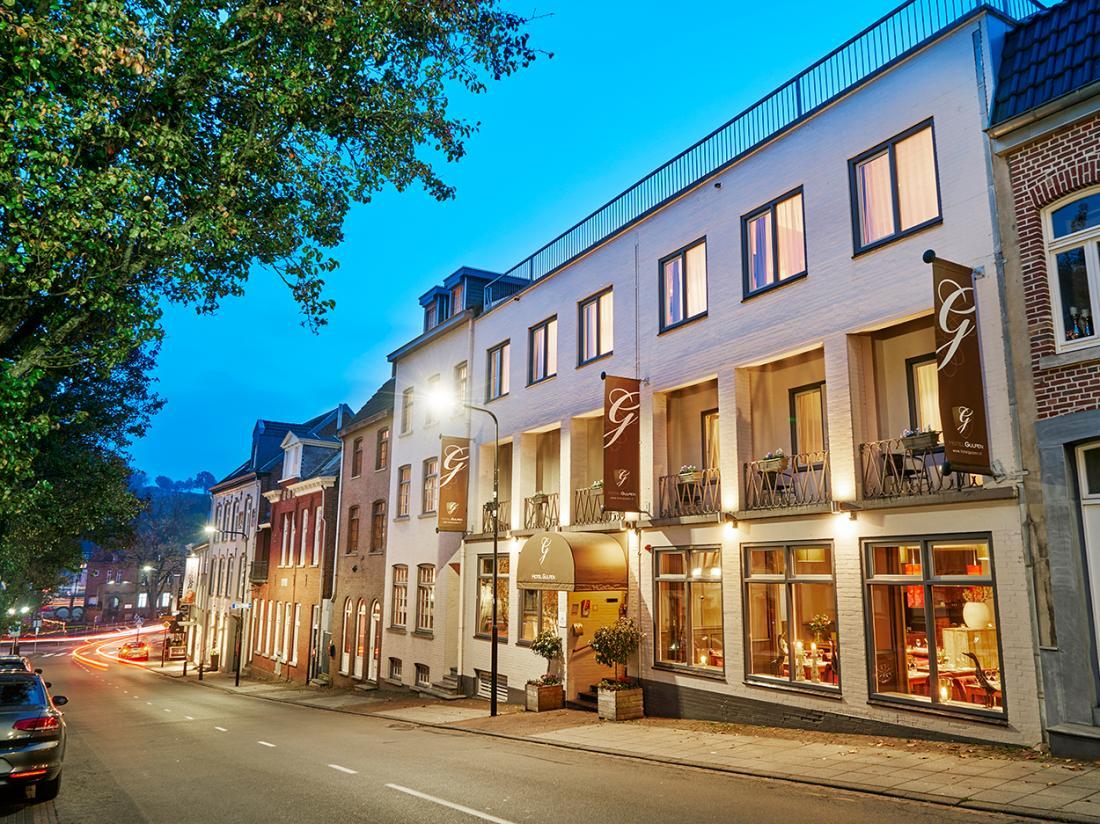 Hotelaanbieding Saillant Hotel Gulpen hotelgebouw