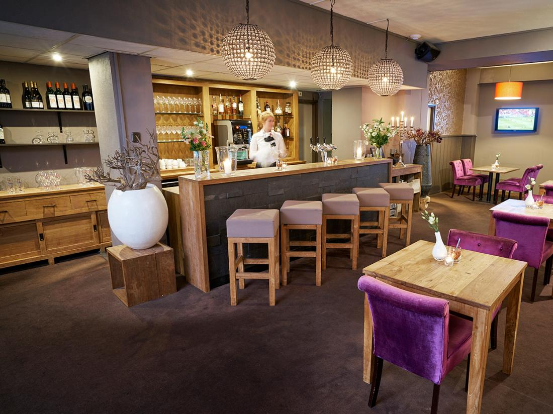 Hotelaanbieding Saillant Hotel Gulpen limburg bar