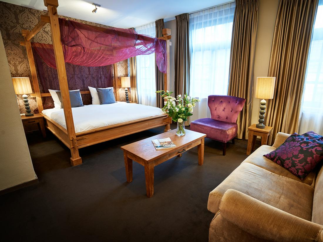Hotelaanbieding Saillant Hotel Gulpen limburg junior suite