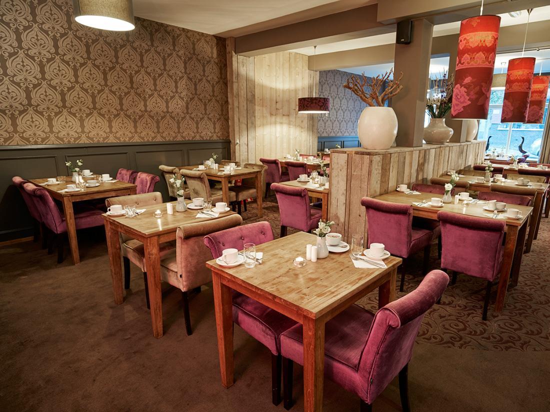 Weekendjeweg Saillant Hotel Gulpen ontbijtzaal