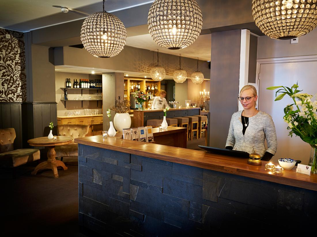 Weekendjeweg Saillant Hotel Gulpen receptie