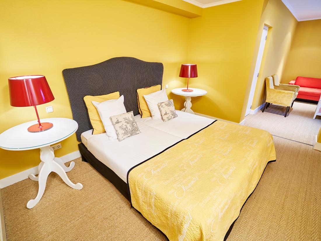 Saillant Hotel Gulpenerland Limburg bed