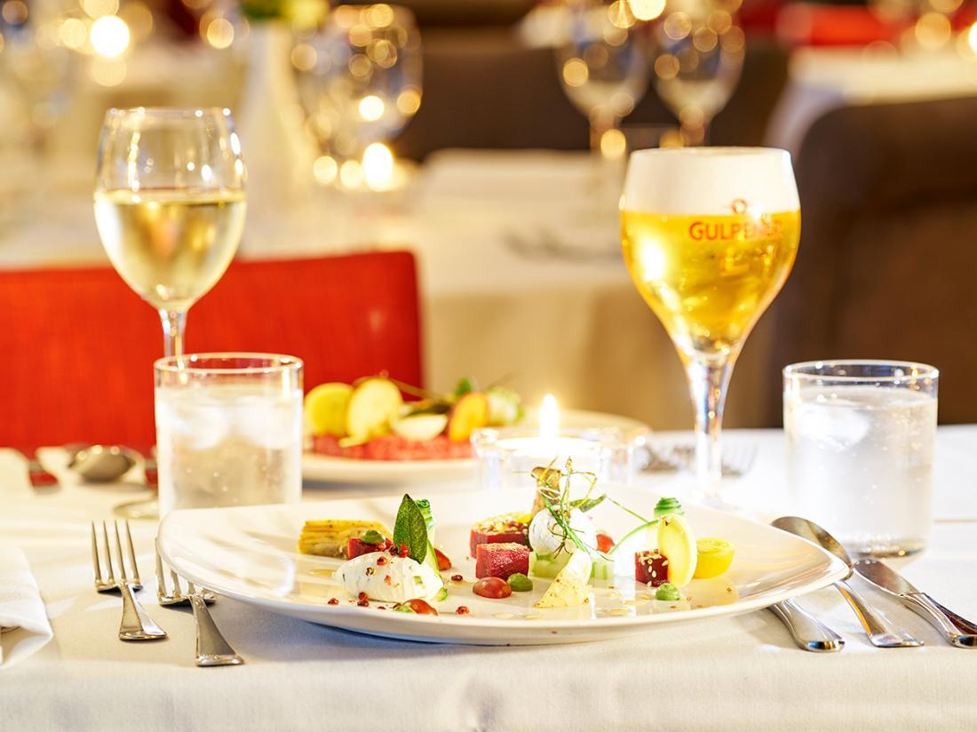 Saillant Hotel Gulpenerland Limburg diner1