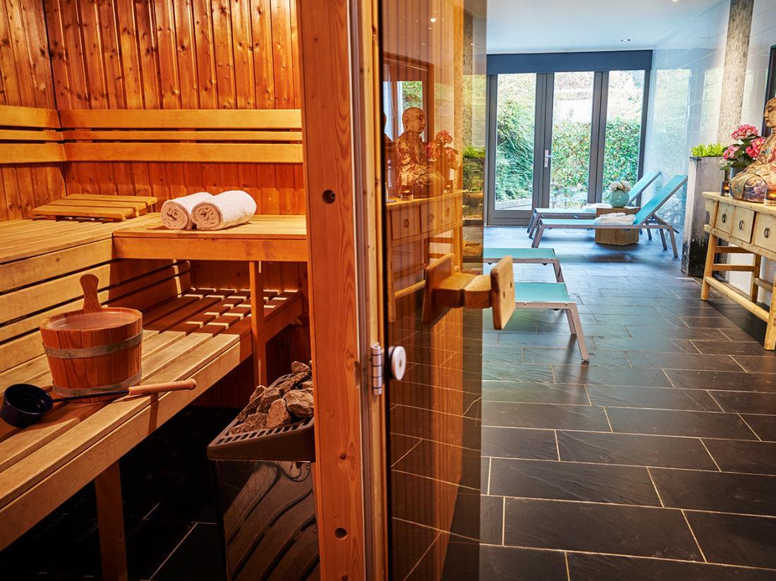 Saillant Hotel Gulpenerland Limburg sauna