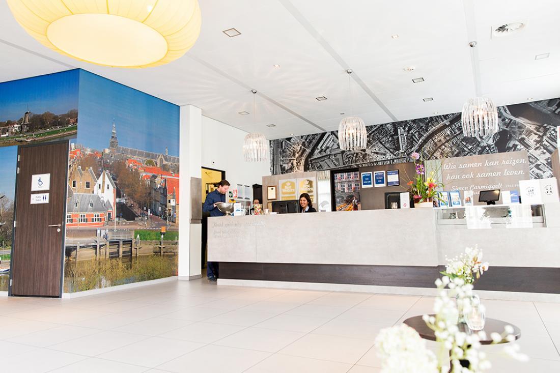 Best Western Plus City Hotel Gouda Receptie