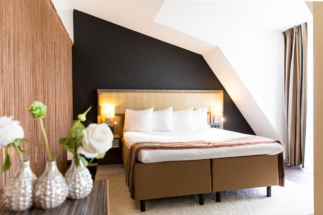 Hotelovernachting Gouda Hotelkamer