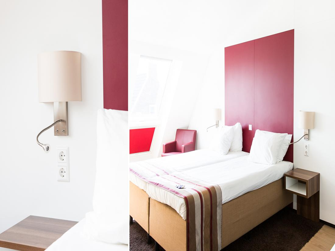 Weekendje Weg Gouda Collage Hotelkamer