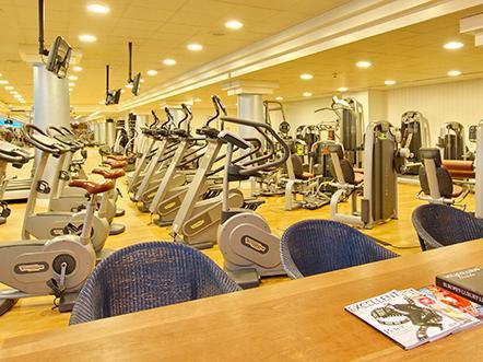 Palace Hotel Noordwijk fitnessruimte