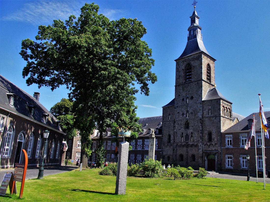 Hotel Abdij Rolduc Limburg Buitenaanzicht