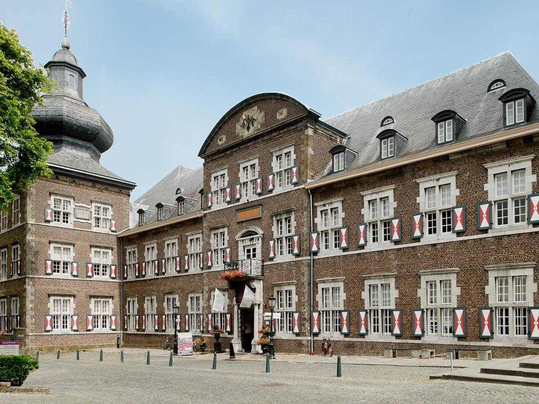 Hotel Abdij Rolduc Limburg Vooraanzicht