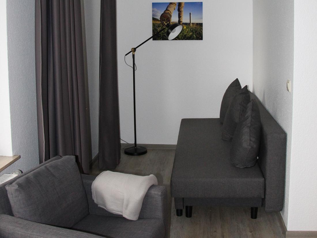 Das Loft Hotel Willingen Hotelovernachting Junior Suite Zitje