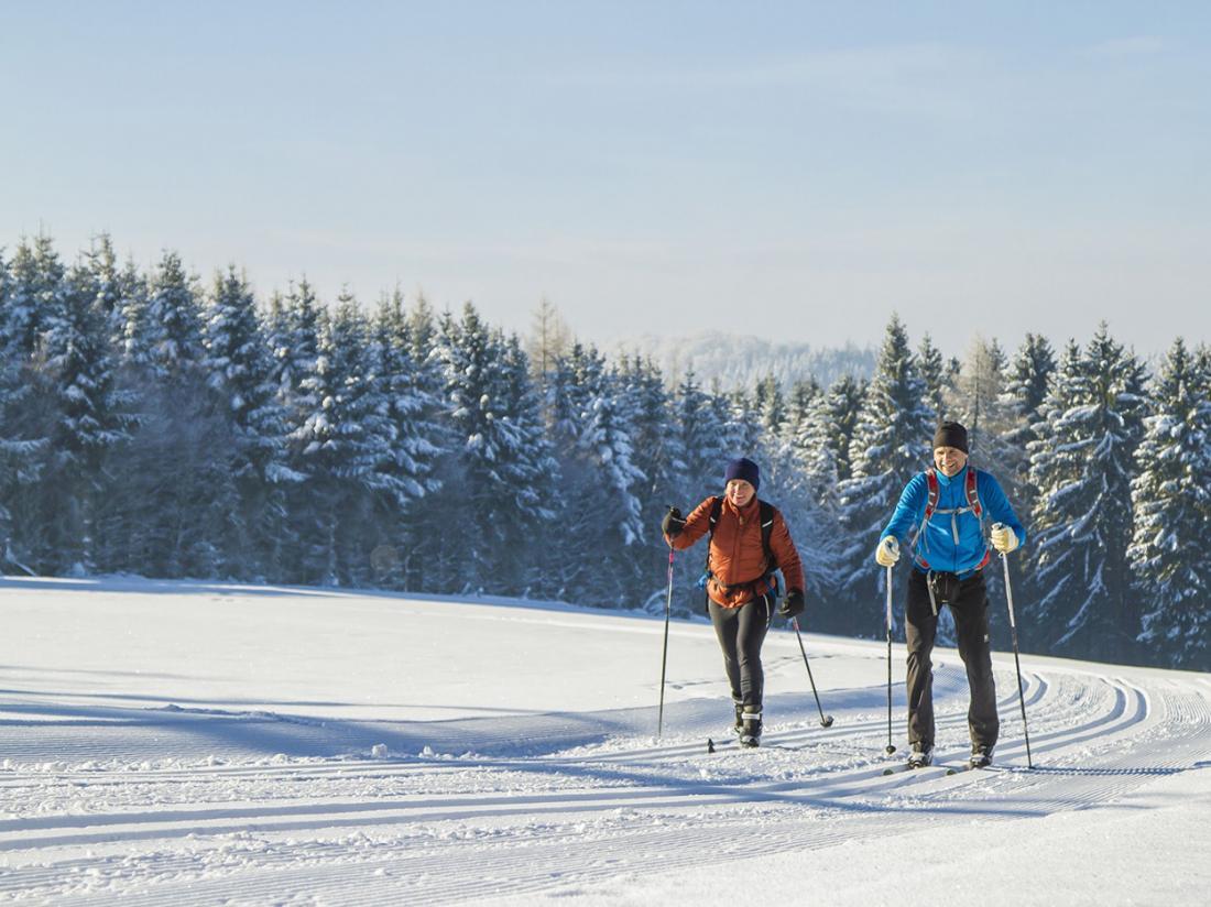 Weekendjeweg Willingen Hessen Langlaufen