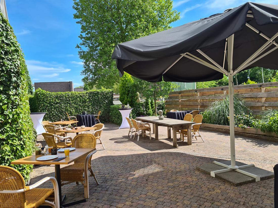 Best Western Hotel Uithoorn Noord Holland Terras Buiten