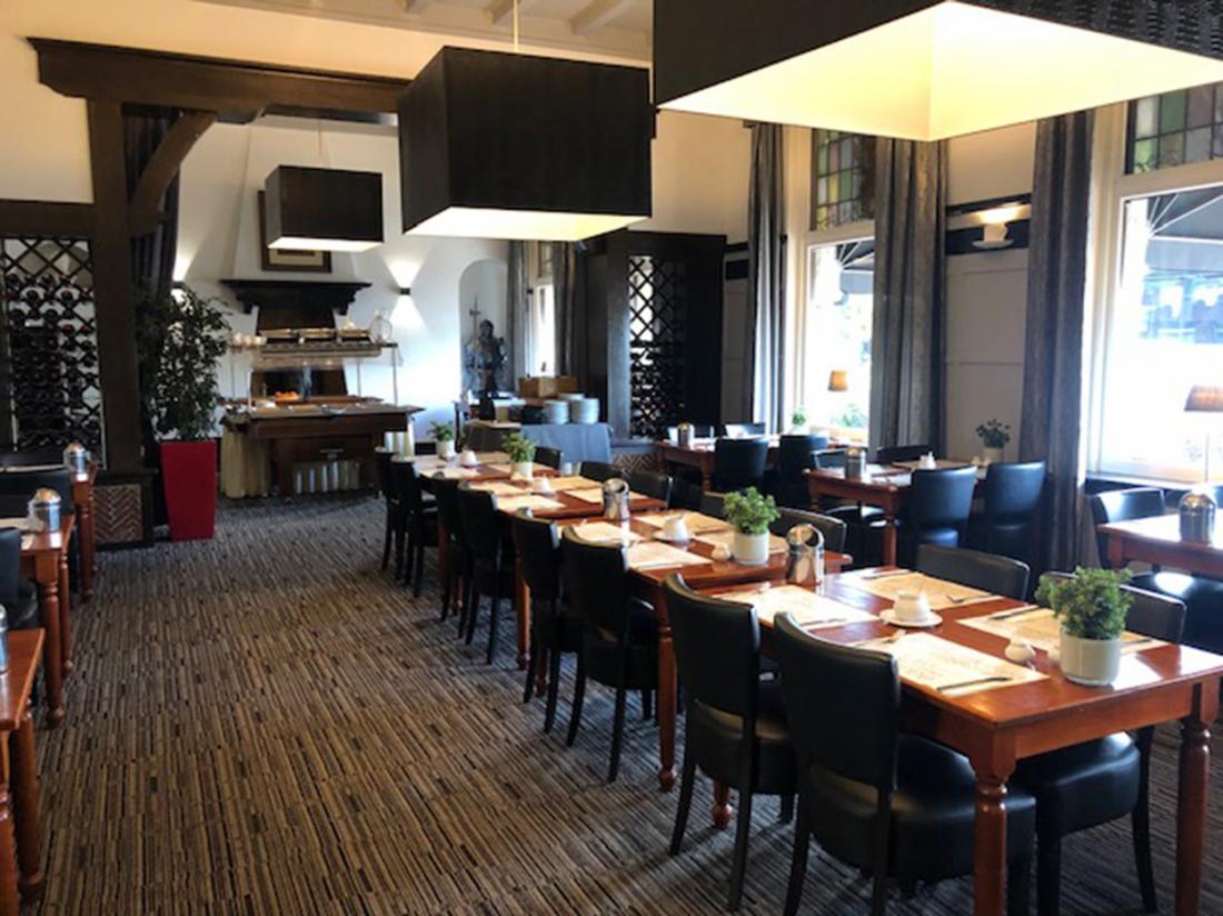 Ontbijt buffet restaurant Wilhelmina